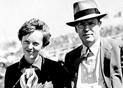 amelia earhart and george putnam relationship