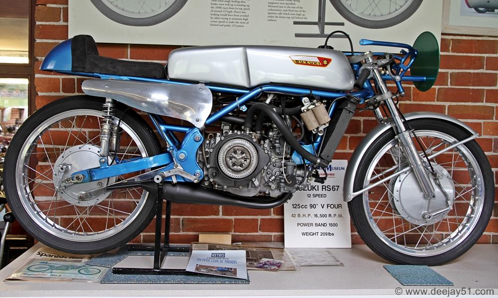 Suzuki Museum Motorcycle